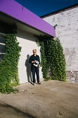 Will (BurlapZack) Tags: pentaxk1 pentaxhddfa28105mmf3556eddcwr vscofilm pack01 dentontx downtown thesquare polacon2017 instantfilmsociety wddi wedentondoit photowalk photographer portrait purple morning sunlight vines ivy fuelingstation gasstation wideangle blueskies
