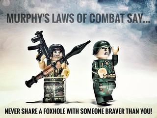 Murphy's law of combat...