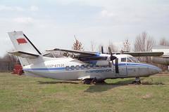 CCCP-67131 LET L-410UVP Turbolet Aeroflot (pslg05896) Tags: uwws smyshlyayevka samara russia cccp67131 let l410 turbolet aeroflot