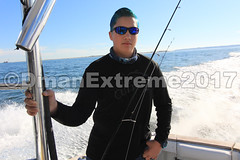 Going to First Fishing Spot (DmanExtreme) Tags: reelmaxlife reel reelmax dman dmanextreme extreme jersey penn linecutterz line cutterz captain mike key fishing charters bass tog black fish boat viking