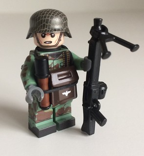 12th SS Panzer Division MG Gunner