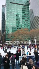 Bryant Park, NY (Patrick Gregerson) Tags: christmasmarket wintervillage iceskating newyork nyc bryantpark video iphone7plus