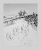 Wandering (Stuart Leche) Tags: blackwhite landscape lowcloud mist monochrome outdoor peakdistrict rockface scenic sky snow stonewalls stuartleche trees winter wwwstuartlechephotography