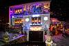 Déco de Noël (thierrybalint) Tags: maison décoration noël neige fêtes nikoniste lumières guirlandes sapin