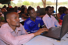 FIRE - Mucho Mangoes Youth Taking part in the ICT Program
