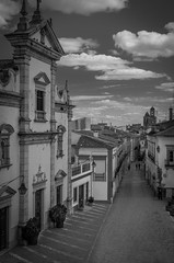 Beja Street 1407 (_Rjc9666_) Tags: alentejo arquitectura bw beja monochromatic monochrome nikkor35mm18 nikond5100 portugal sky street travel urbanphotography cityscape ©ruijorge9666 1981 1407