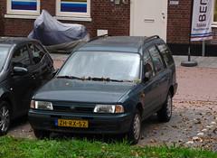 1999 Nissan Sunny Wagon 1.6 LX (rvandermaar) Tags: y10 n14 1999 nissan sunny wagon 16 lx nissansunny ad nissanad resort sidecode5 zhrx52