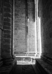 Light and columns, San Biagio. Leica M6, 35mm Summciron ASPH, Fomopan 100 (nickdemarco) Tags: rangefinderchronicles blackwhite film leicam6classic 35mmsummicronasph italy fomopan tuscany