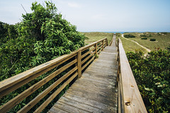 Boardwalk to the Beach [06.15.2017] (Andrew H Wagner   AHWagner Photo) Tags: canon eos 5d3 1635l 1635mm f4 f4l is usm 5dmk3 5dmkiii 5dmarkiii 5dmark3 ultrawideangle wideangle outdoors explore exploration exploring northcarolina nc outerbanks obx vacation beaches beach boardwalk pathway leadinglines summer