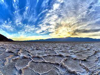 The Deepest Point in North America - Badwater Basin - Death Valley