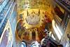 Church on Spilled Blood (mahteetagong) Tags: baltic sea cruise nikon d80 token 1224mmf4 stpetersburg russia churchonspilledblood christ disciples ceiling painting