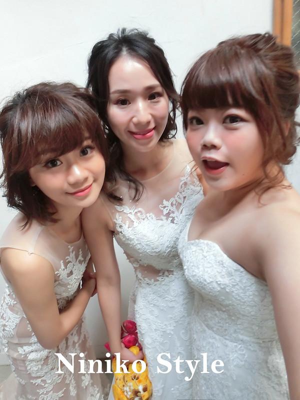 婚紗,髮型,2017,新娘,髮飾,台南,小曼谷,閨秘,空姐,包頭
