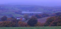 Misty Autumn (Dave Roberts3) Tags: wales newport alltyryn gwent autumn fall reservoir ynysyfro