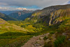 Shine a Light (kirstenscamera) Tags: basin colorado icelakes telluride ouray silverton outside co southwest hike adventure lowericelake forest pines mountain path trial nikon d810 sunset cloudcover cloudy clouds serene woods mountainscolorairnaturelight