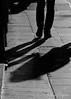 No estás solo - You're not alone (Eva Ceprián) Tags: blancoynegro blackandwhite sombras shadows calle street acera suelo sidewalk floor hombre man caminar walk streetphotography fotografíacallejera fotografíaconceptual conceptualphotography soledad loneliness outdoors exterior recuerdo memory compañía nostalgia añoranza yearning pasado past futuro future imaginación imagination mujer woman amor love abandono abandonment