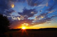 Sunset nearby Obertrubach IMGP1017b (horschte68) Tags: obertrubach landscape landschaft sunset sunsetmood fränkischeschweiz franconianswitzerland wideangle 2016 scenery drausen aussen aussicht view 20160818 201214 outdoor pentaxk50 smcda1645mm40edal