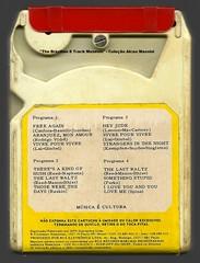 "1972 - Românticos de Cuba / Hit Parade Spectacular - brazil 8 track - fita cartucho de 8 pistas (""The Brazilian 8 Track Museum"") Tags: alceu massini vintage collection nilo sérgio tabajara orquestra severino araújo"