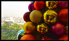 series of self reflections (harrypwt) Tags: harrypwt lagos nigeria landscape interesting colorful reflection window christmas hotel decoration