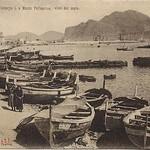 Palermo - Foro Umberto I e Monte Pellegrino visti dal mare thumbnail