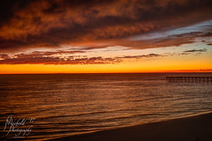 Late Sunset over the Gulf (Michael Allen Siebold (Getty Images Contributor)) Tags: water gulfofmexico sand beach sunset color shadow