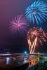 Saundersfoot Harbour Fireworks 2017