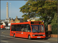 CN04 HOL (Jason 87030) Tags: 6 optare solo red countrylion mile westbridge stjamesrd road service working route hobo roadside shot northgate bus station cn04hol rouge october oct 17 2017 six tower lighthouse tree frame