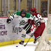 Break on through... (R.A. Killmer) Tags: sru iup victory slippery rock university acha skate stick puck green white fast competition ice hockey