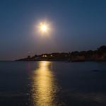 Clair de lune sur la pointe de Chémoulin (Saint Nazaire) thumbnail