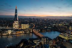 City Of Blinding Light (sdupimages) Tags: nuit paysage landscape sunset bluehour horizon ville city london londres night cityscape sunrise couchedesoleil