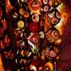 favourite little corner - the millefiori collection (Explored) (ellynwriting - health slowdown) Tags: corner cabinet jewellery millefiori glass handblown murano venetian