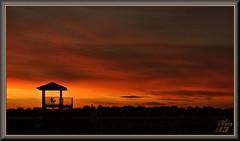 Dusk (WanaM3) Tags: wanam3 sony a700 sonya700 texas houston elfrancoleepark park wetlands observationplatform outdoors nature dusk clouds goldenhour redsky sky sunset twilight civiltwilight