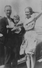 Alan Houghton Bartley, Mavis Margaret Duncan and son