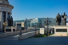 Skopje - Makedonija ploštad (Македонија плоштад) (Añelo de la Krotsche) Tags: skopje makedonijaploštad македонијаплоштад makedonija macedonia macédoine македонија скопје