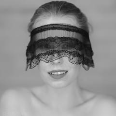 Kamila in ring light (piotr_szymanek) Tags: kamila portrait studio blackandwhite fotogenerator woman face eyesoncamera young 5k 10k 20k 50f 1k 20f
