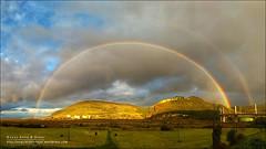Arcoiris completo sobre Muskiz, Bizkaia (Pais Vasco) (Anna & Oskar) Tags: arcoiris muskiz bizkaia paisvasco paisaje lanscape bask country rainbow storm tormenta