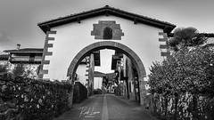 Amaiur (Raul Piki Bolukua) Tags: amaiur blackandwhite bw rural landscape autumm oldtown basquecountry navarra nature bluehour baztan nikond3200 sigma1020 door hdr