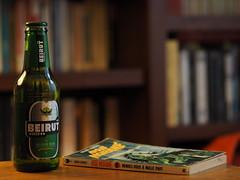 """""""Rendez-vous à nulle part"""" (Les aventures de Bob Morane, Henri Vernes) (monsieur Burns) Tags: beirut beer"""