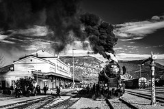 Christmas Train 2017 (misko k) Tags: christmastrain santatrain santaclaus museumtrain steam steamlocomotive winter kriegslok drbclass52 33037 slovenskeželeznice slovenianrailways slovenia božič božičkovvlak muzejskivlak para parnalokomotiva sž sz zima