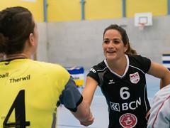 171104_VBTD1-NUCII_002.jpg (HESCphoto) Tags: damen saison1718 therwil vbtherwil 99ersporthalle nuc nlb volleyball