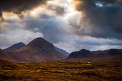 Big Skye (Augmented Reality Images (Getty Contributor)) Tags: munros longexposure marsco landscape storm highlands moor isleofskye island scotland leefilters canon sligachan mountains clouds unitedkingdom gb