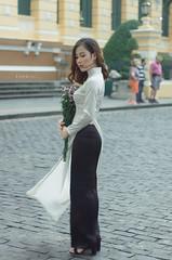 Dung Áo Dài 1 (Lê Đình Tuấn) Tags: áo dài ao dai aodai chân dung