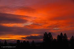 "Sunrise Yesterday (jimgspokane) Tags: sunrises spokanewashingtonstate washingtonstate ""nikonflickraward"""