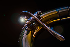 Things that rhyme with stone (sniggie) Tags: macromondays brassinstrument slide spitvalve trombone wordsthatrhymewithstone showtime orchestra symphony