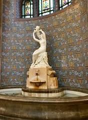 Gellért baths (KelJB) Tags: europe relaxation spa tourism budapest hungary gellértbaths cherub fountain art history statue thermalbath