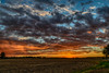 Sunset Celebration! (tquist24) Tags: goshen hdr indiana nikon nikond5300 outdoor blue clouds color evening farm geotagged harvest landscape orange rural sky sunset tree trees unitedstates