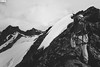 """I Walk A Little Faster"" - Jotunheimen Mountains - Norway (TLMELO) Tags: montanha mountain mountaineer mount noruega norway norwegian keepwalking justdoit walking neve snow impossibleisnothing girl woman"