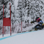 FIS Coaches Cup Sun Peaks Ladies GS - Nicole Mah (1st place) PHOTO CREDIT: Chris Naas