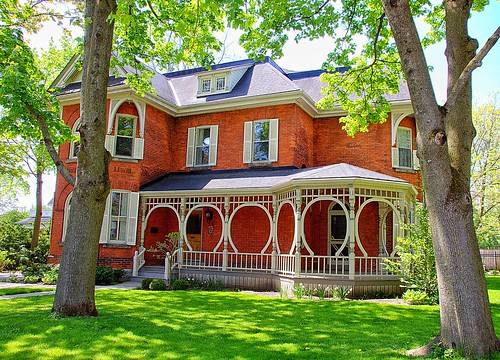 Stratford Ontario - Canada - Queen Anne Style - Architecture Heritage