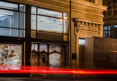 harry winston build (pbo31) Tags: sanfrancisco california night black dark color nikon d810 city urban boury pbo31 november 2017 bayarea fall unionsquare poststreet lightstream motion traffic roadway shopping shop harrywinston construction retail