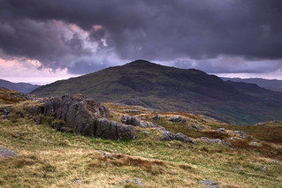 Dusk at Harter Fell